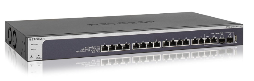 Netgear ProSAFE 16 port 10-GigaBit Switch